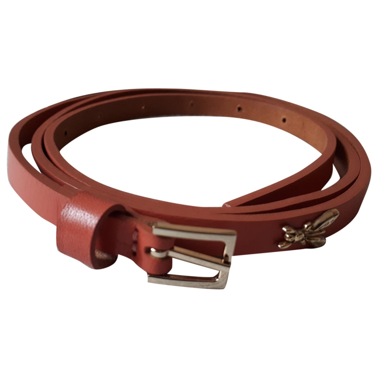 Patrizia Pepe \N Pink Leather belt for Women 90 cm