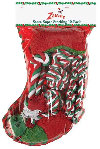 Zanies Santas Super Stocking (10 Pack)