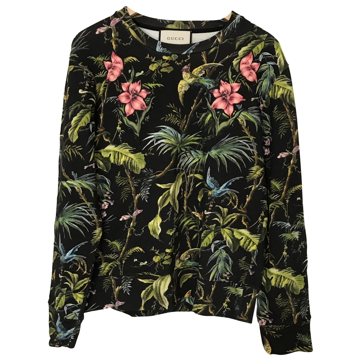 Gucci \N Green Cotton Knitwear & Sweatshirts for Men S International