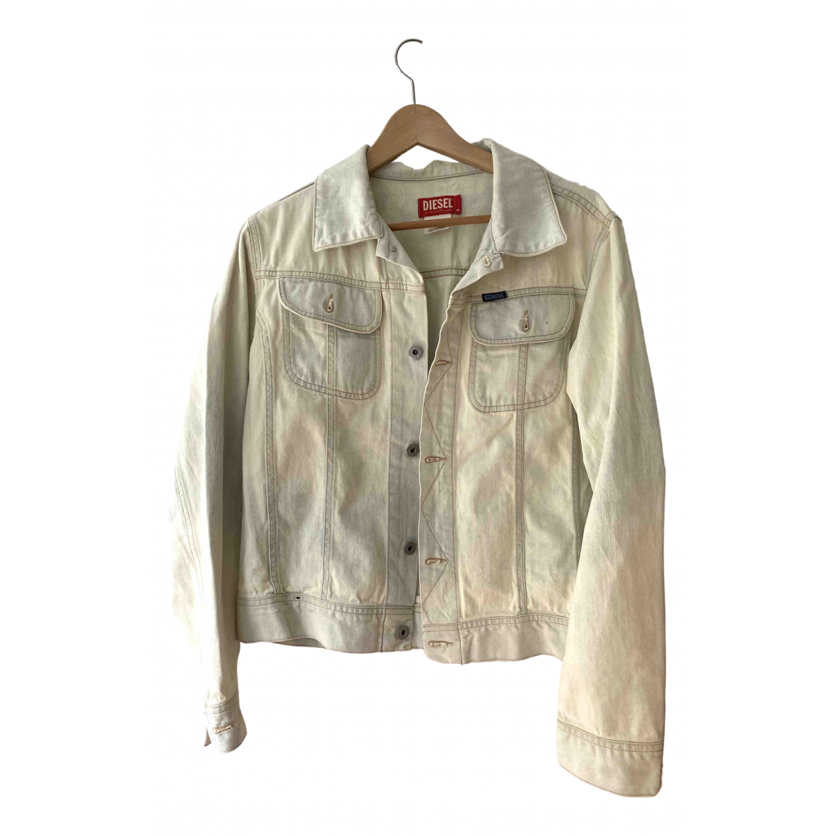 Diesel N White Denim - Jeans jacket  for Men XL International