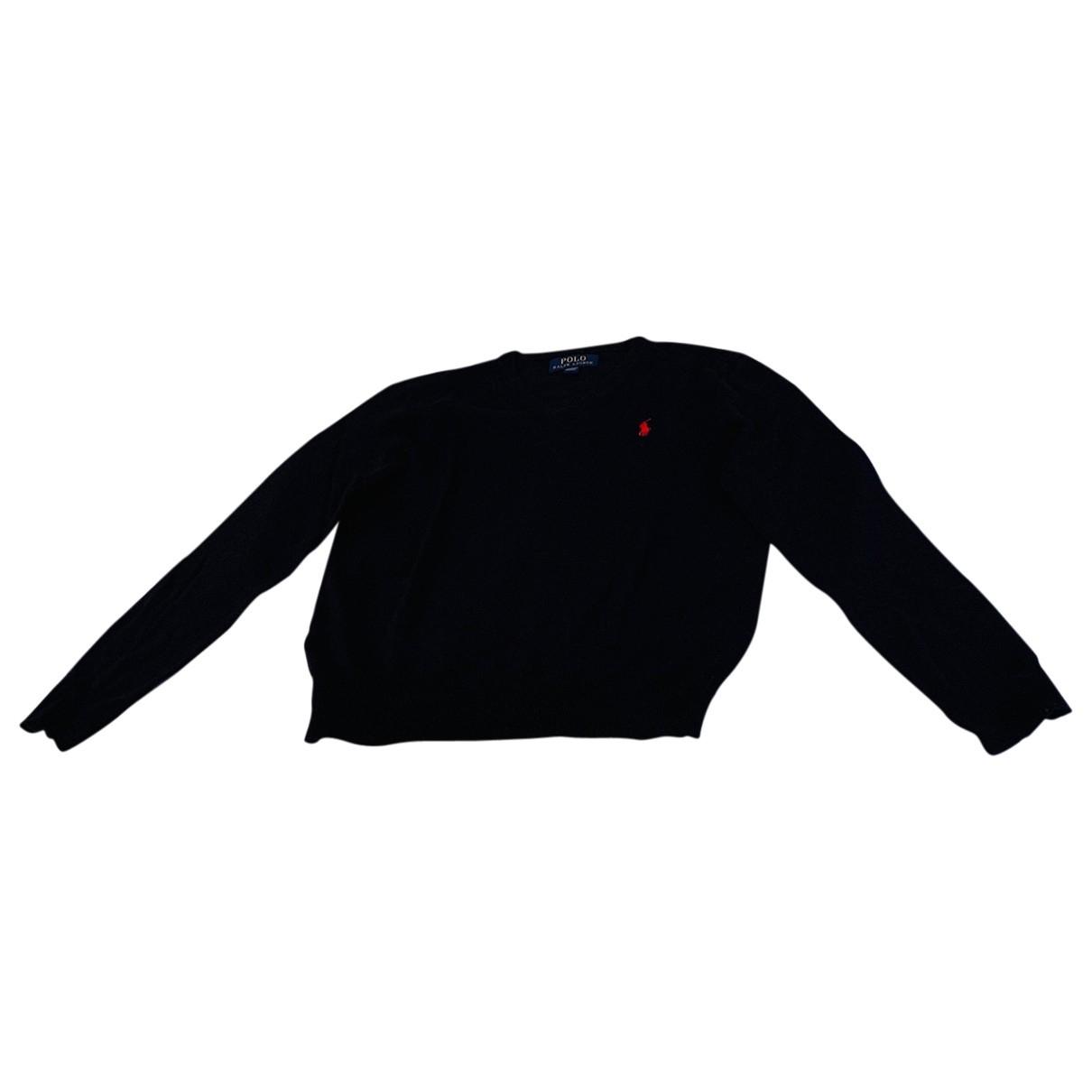 Polo Ralph Lauren - Pull   pour enfant en laine - marine