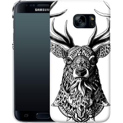 Samsung Galaxy S7 Smartphone Huelle - Ornate Buck von BIOWORKZ