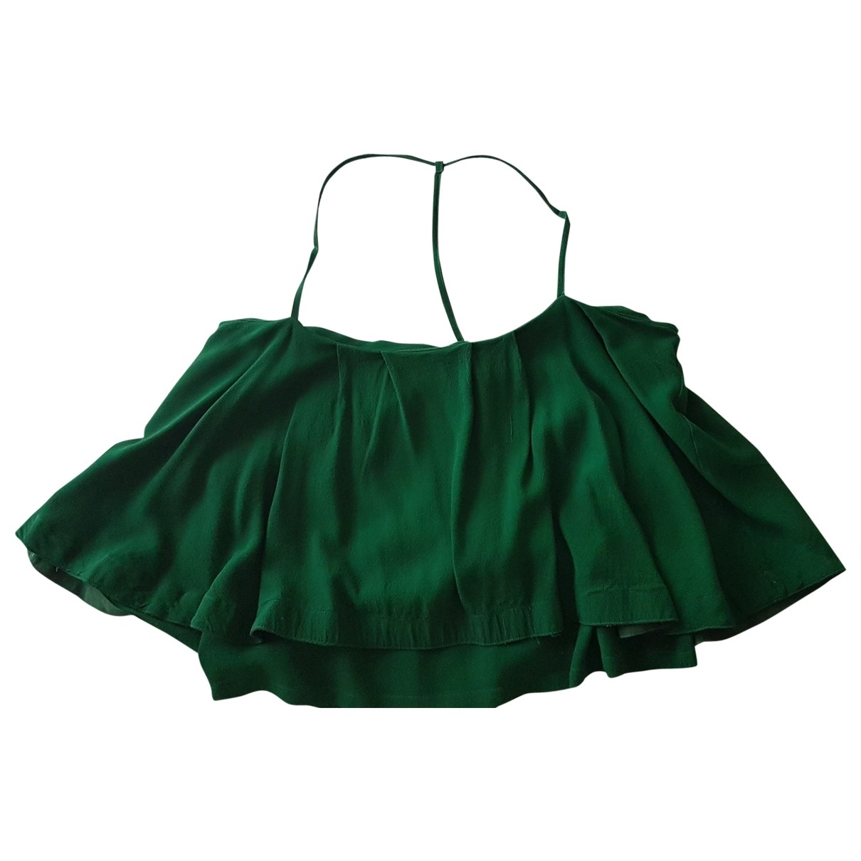 Non Signé / Unsigned \N Green  top for Women 46 IT