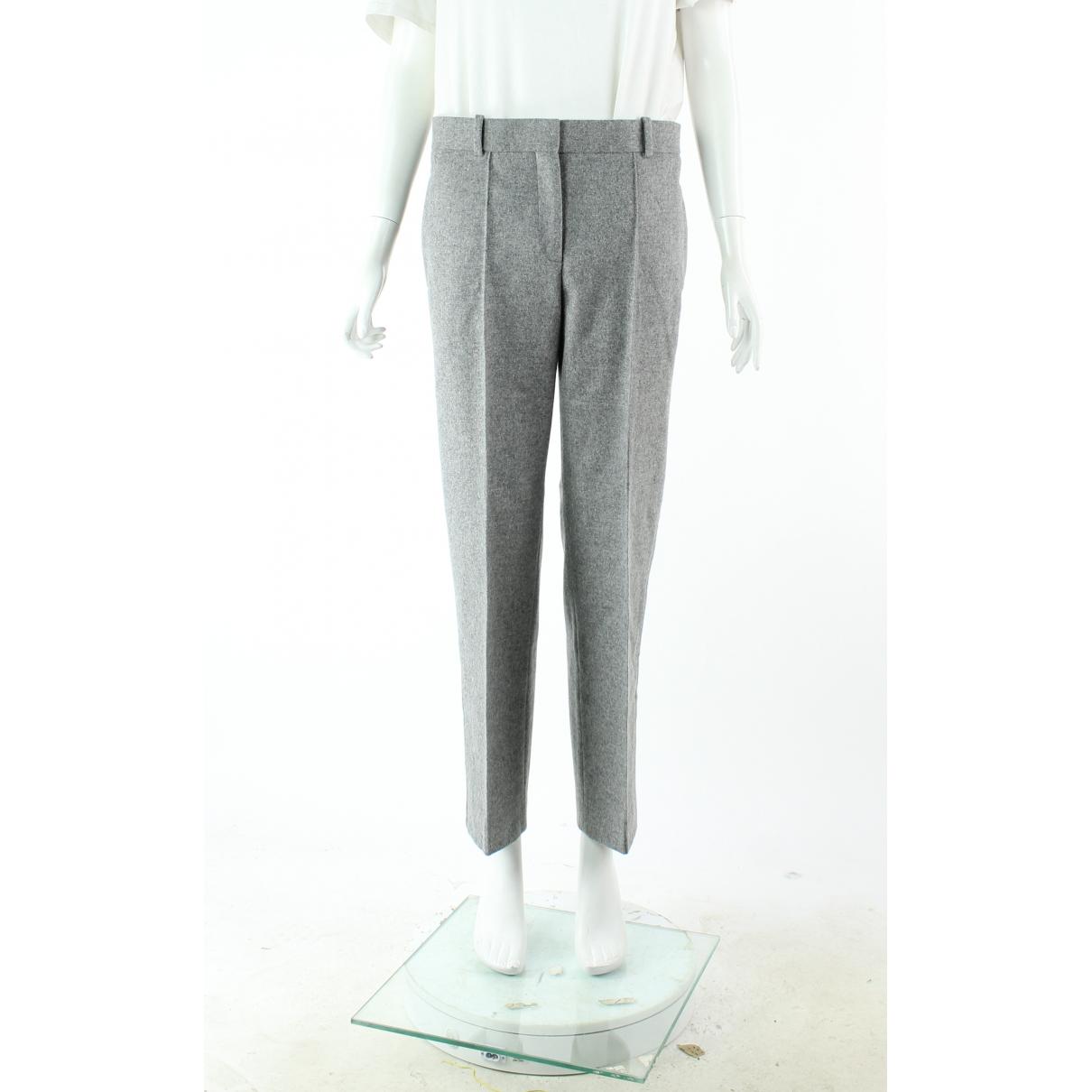Celine - Pantalon   pour femme en laine - gris