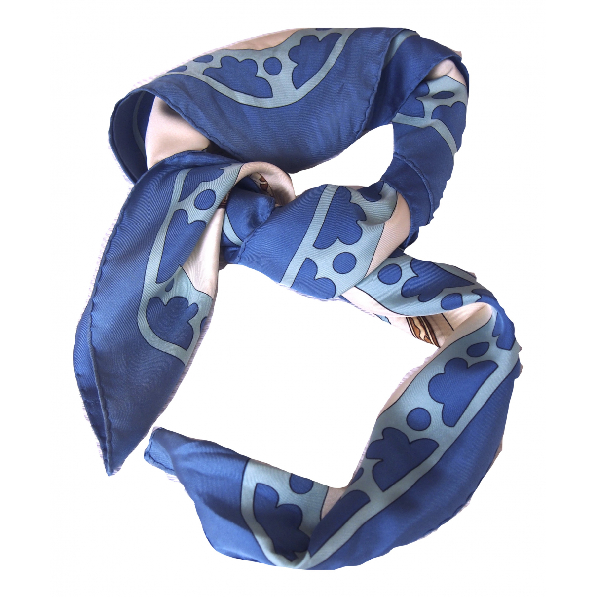 Hermès Carré 90 Blue Silk Silk handkerchief for Women \N
