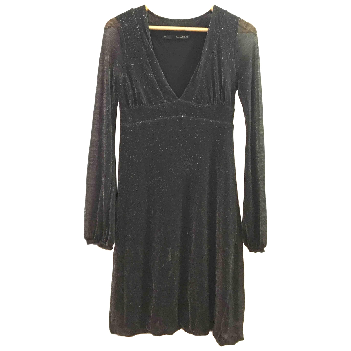 Non Signé / Unsigned \N Anthracite Glitter dress for Women 44 IT