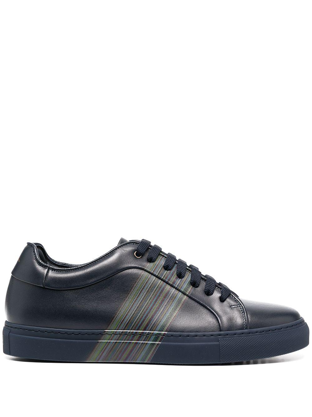 Logo Leather Sneaker