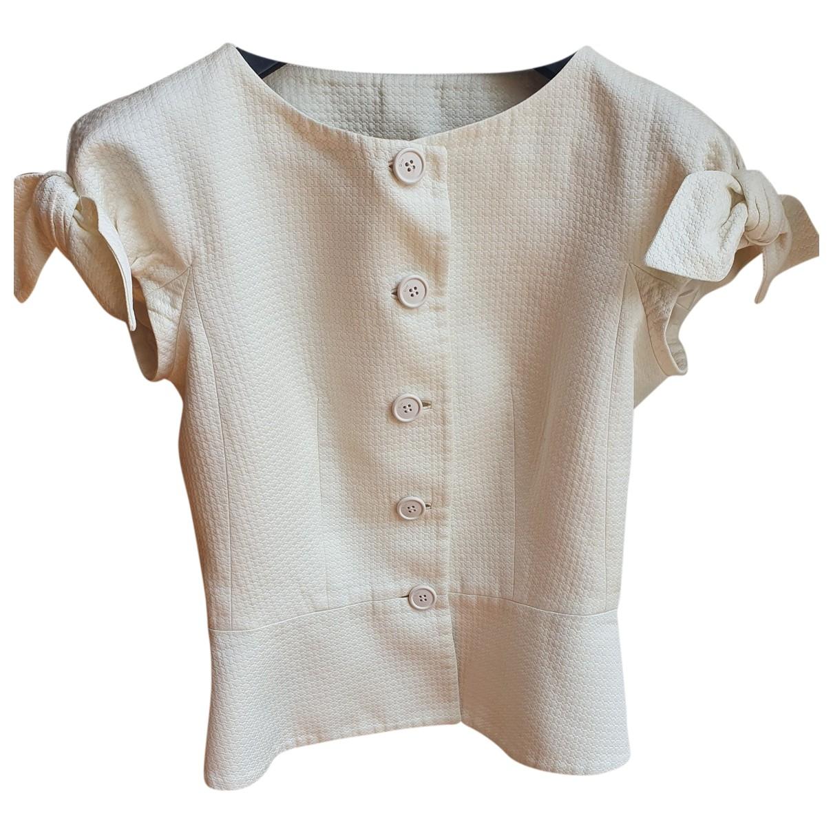 Dior \N White Cotton jacket for Women 36 FR