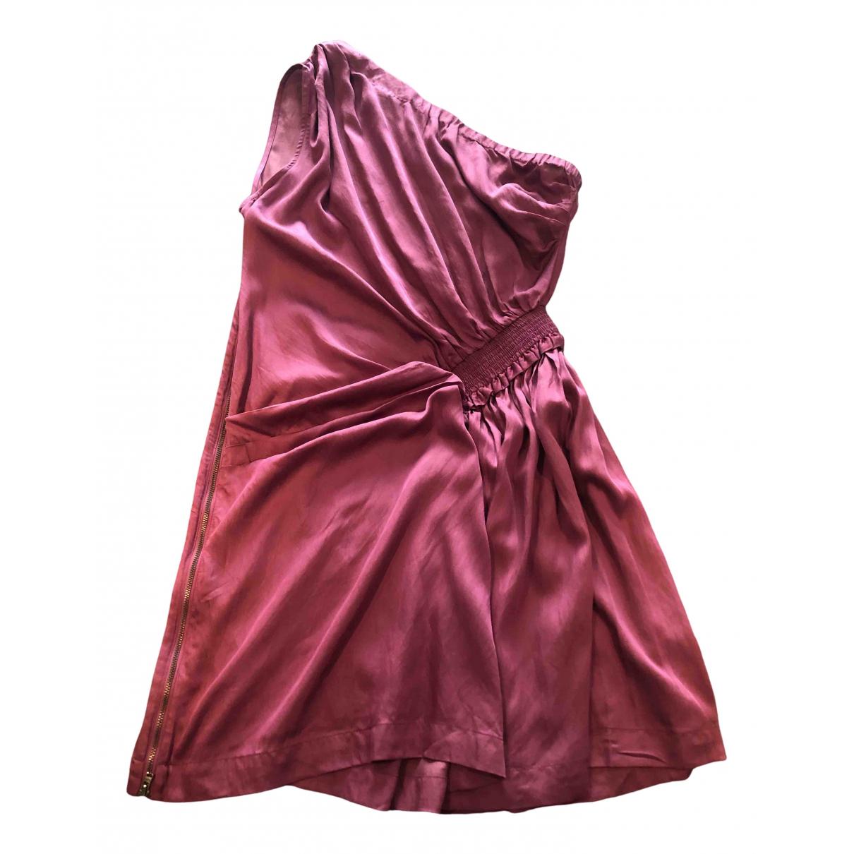 Iro \N Pink Cotton dress for Women 1 0-5