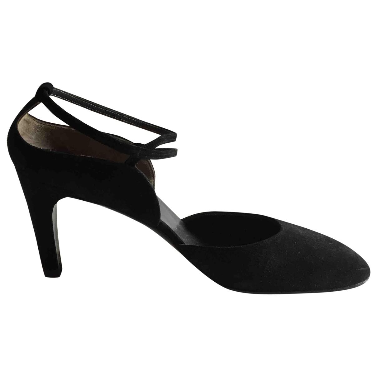 Christian Dior - Escarpins   pour femme en suede - noir