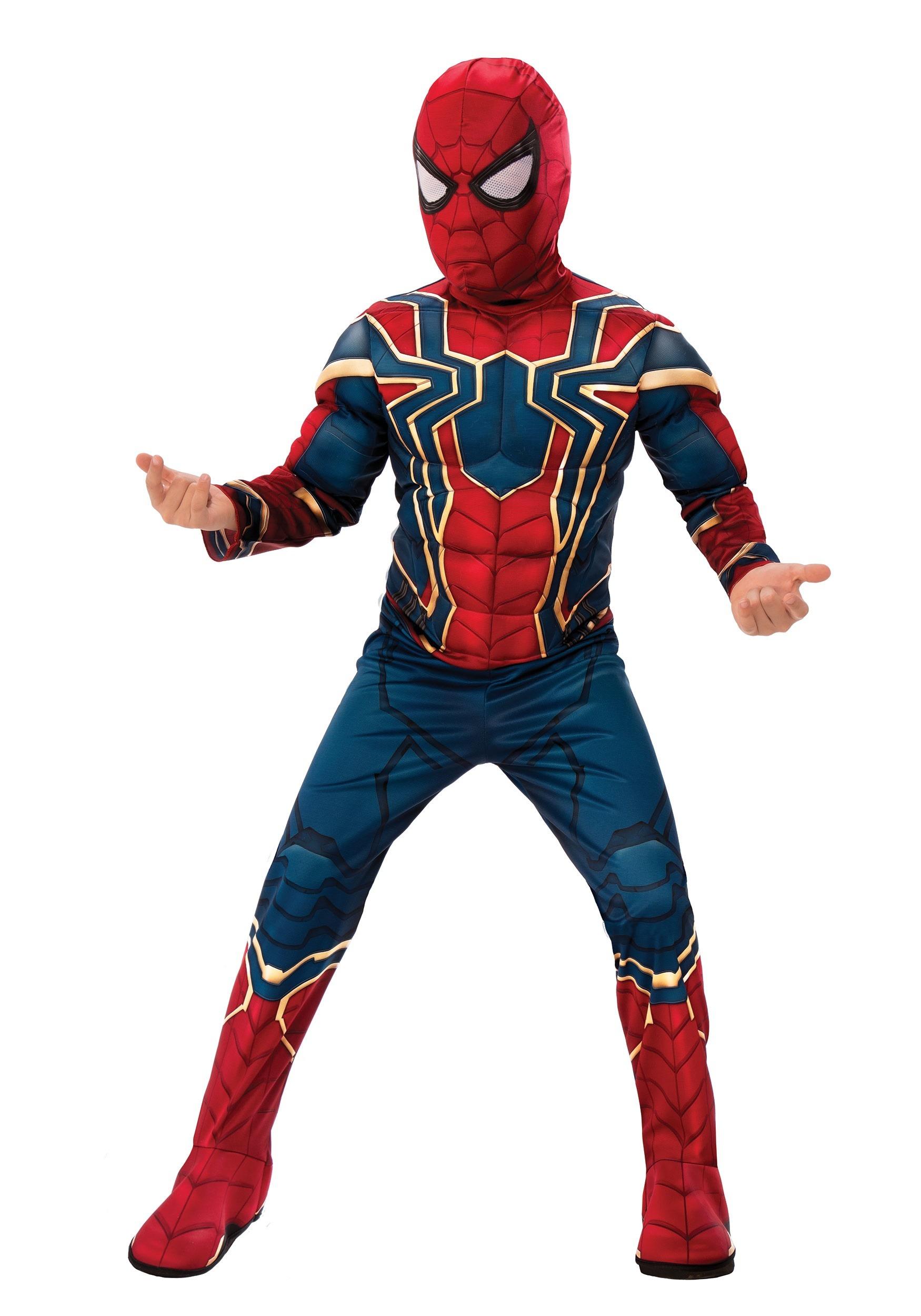 Marvel Infinity War Deluxe Iron Spider Costume for Kids