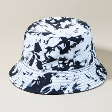 Sombrero cubo de hombres de dos colores