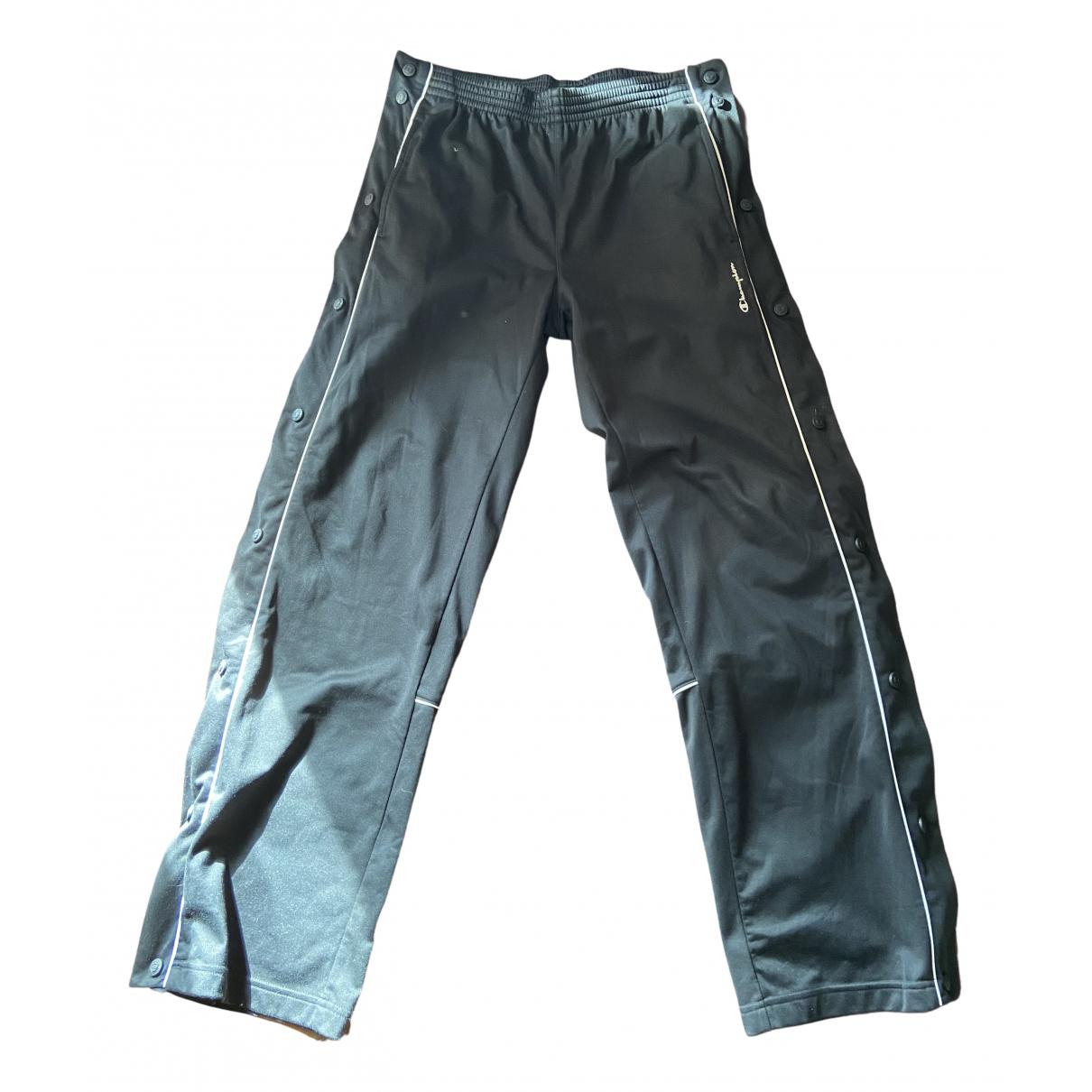 Champion - Pantalon   pour homme - noir