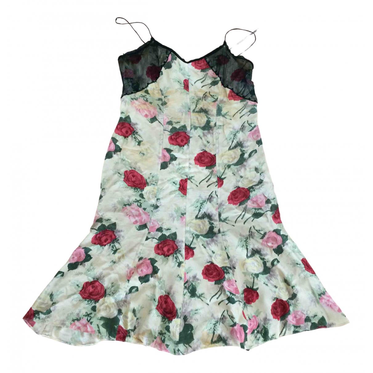 Blumarine - Robe   pour femme en soie - vert
