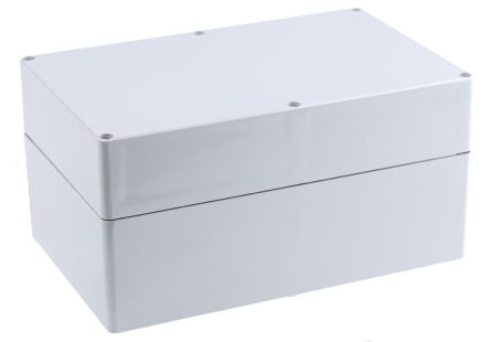Fibox Euronord II, Grey Polycarbonate Enclosure, IP66, IP67, 250 x 160 x 125mm