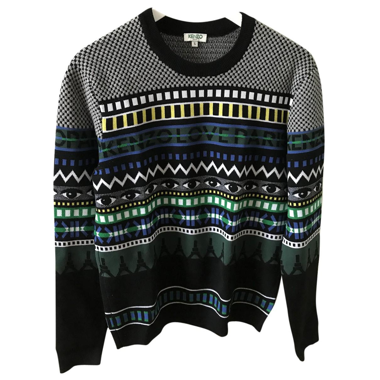 Kenzo \N Pullover.Westen.Sweatshirts  in  Grau Wolle