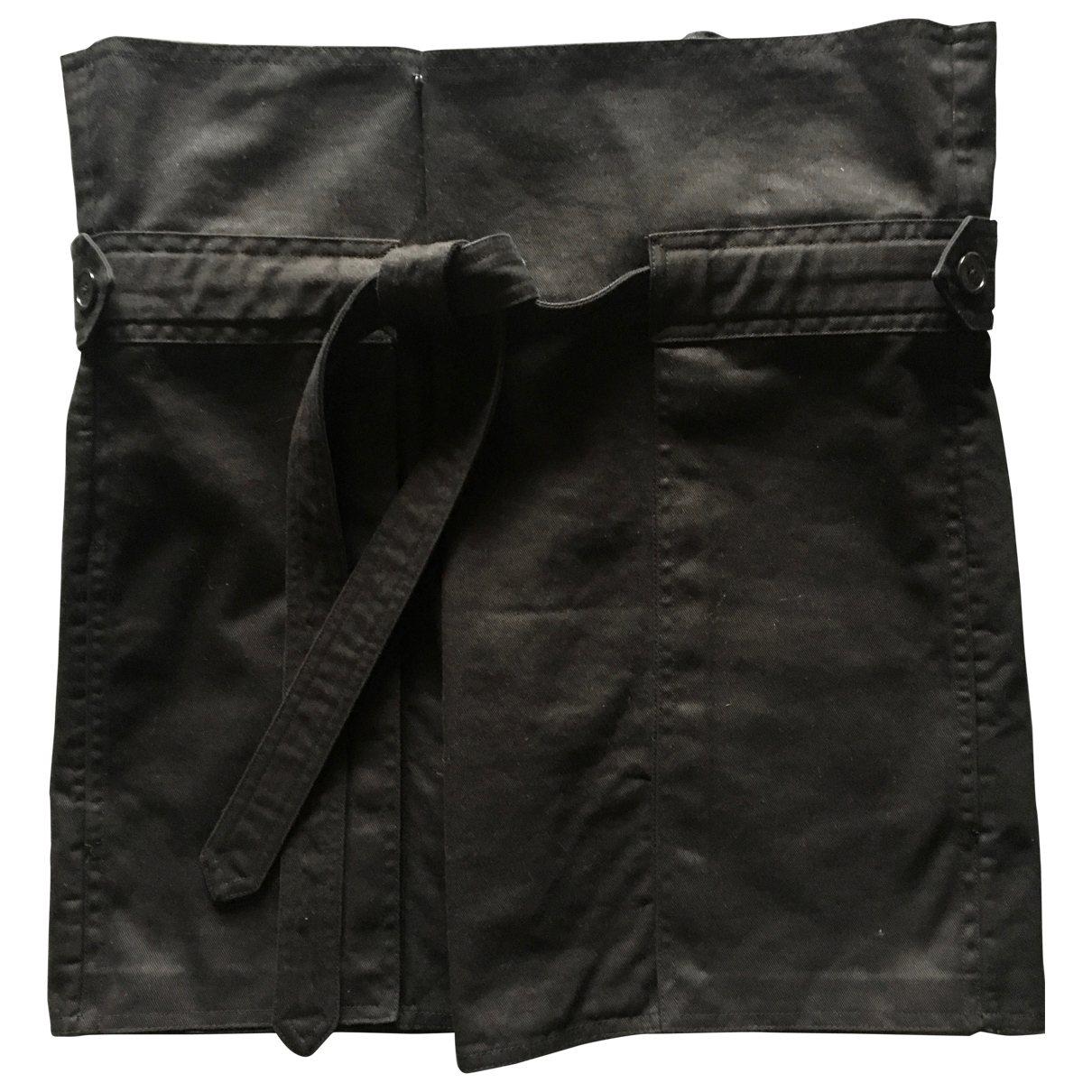Saint Laurent - Jupe   pour femme en coton - noir