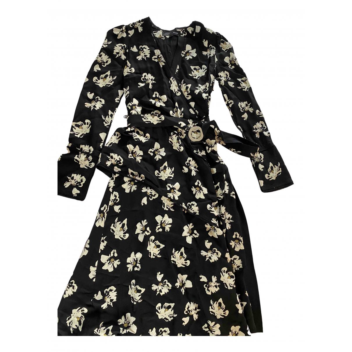 Proenza Schouler \N Kleid in  Schwarz Viskose