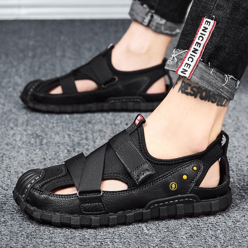 Ericdress Velcro Platform Low-Cut Upper Hollow Sandals