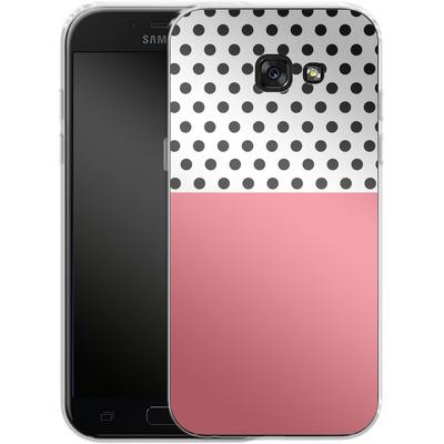 Samsung Galaxy A5 (2017) Silikon Handyhuelle - Coral Dots von caseable Designs