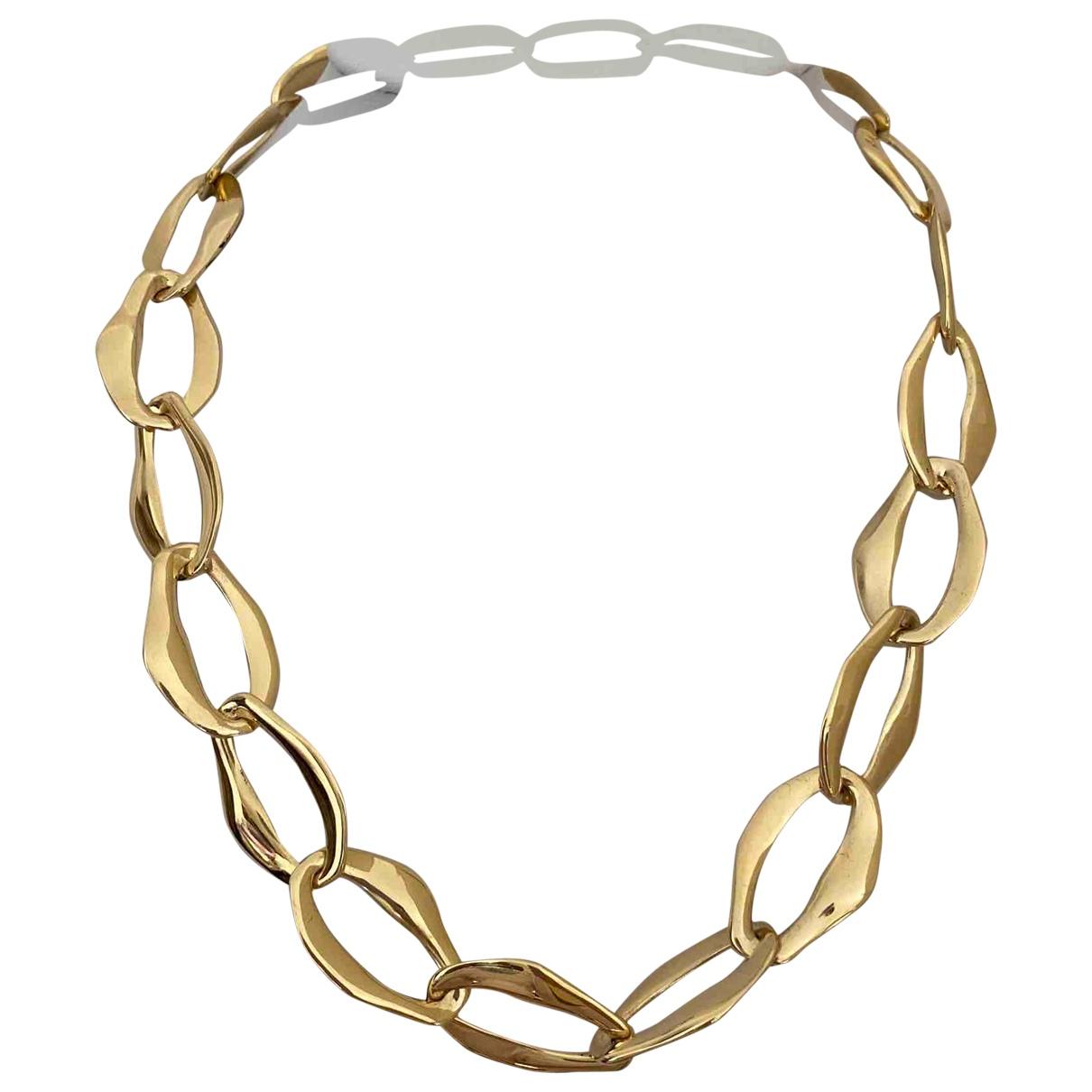 Tiffany & Co - Collier Elsa Peretti  pour femme en or jaune - dore