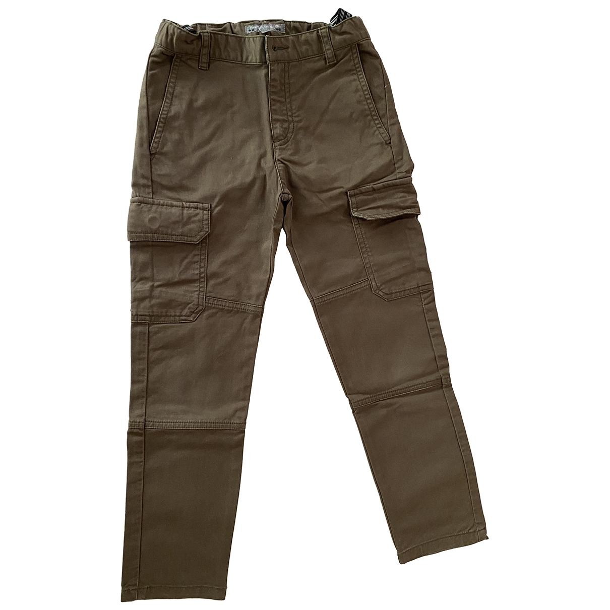Bonpoint - Pantalon   pour enfant en coton - kaki