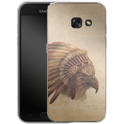Samsung Galaxy A3 (2017) Silikon Handyhuelle - Eagle Chief von Terry Fan