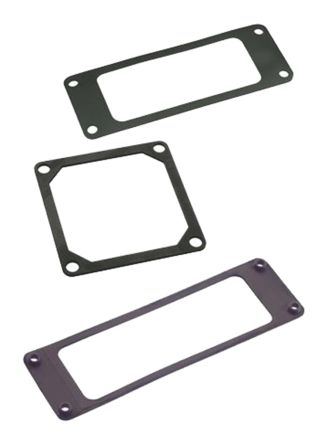 HARTING Han-16A Series Flange Gasket, For Use With Housing (10)