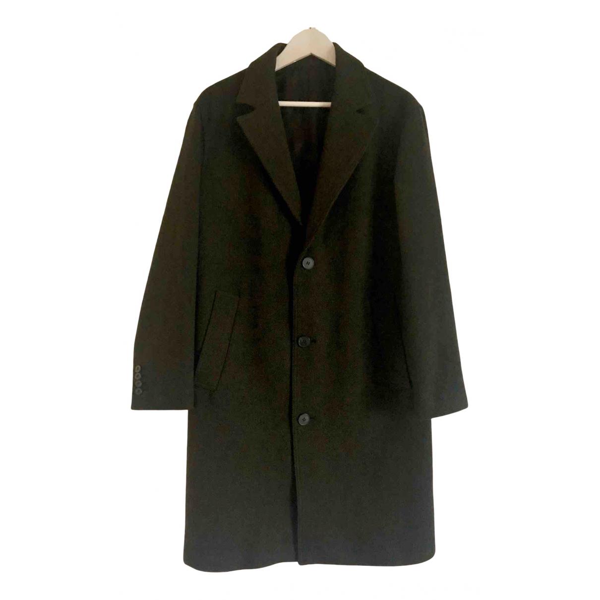 The Kooples Fall Winter 2019 Khaki Wool coat  for Men S International