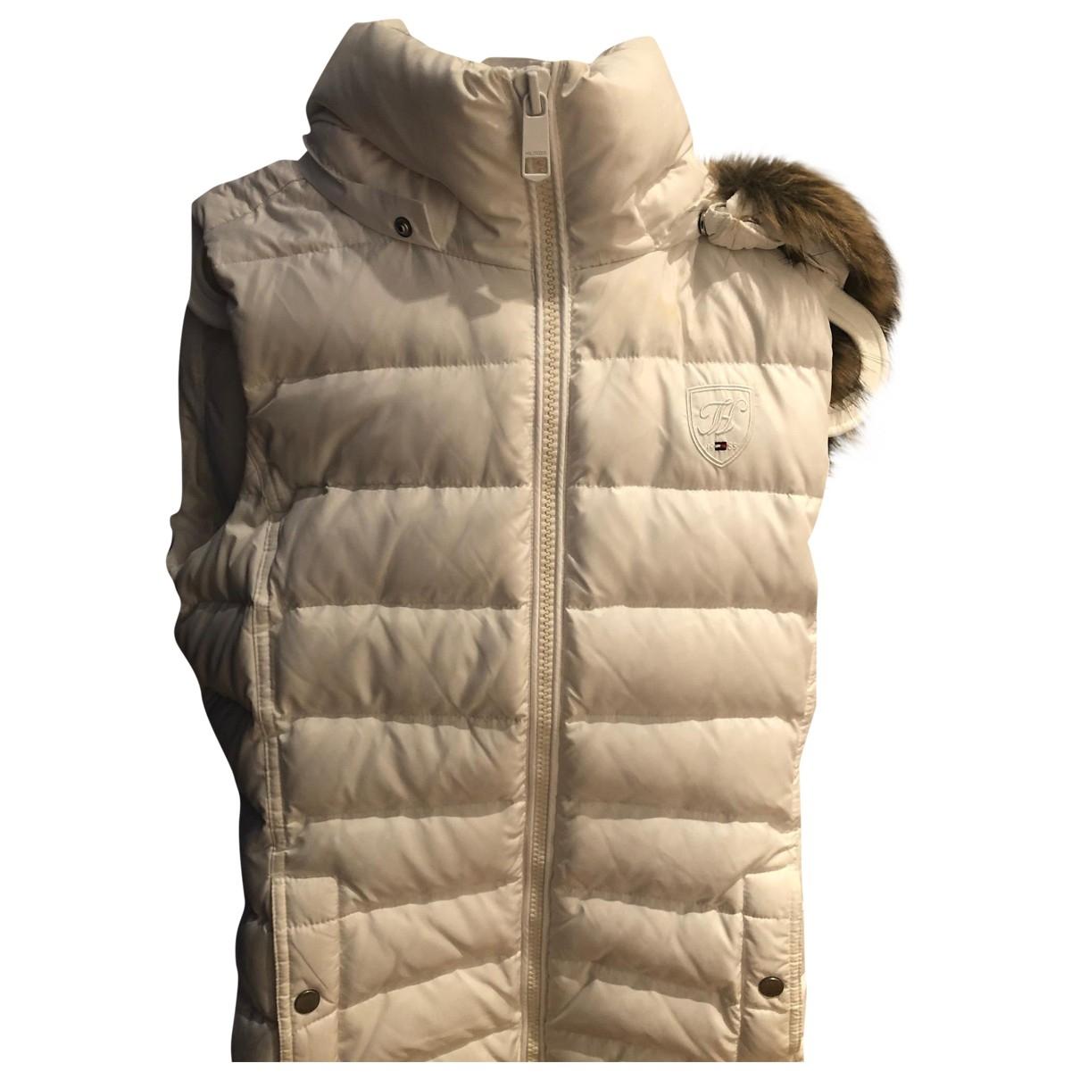 Tommy Hilfiger \N White jacket for Women S International