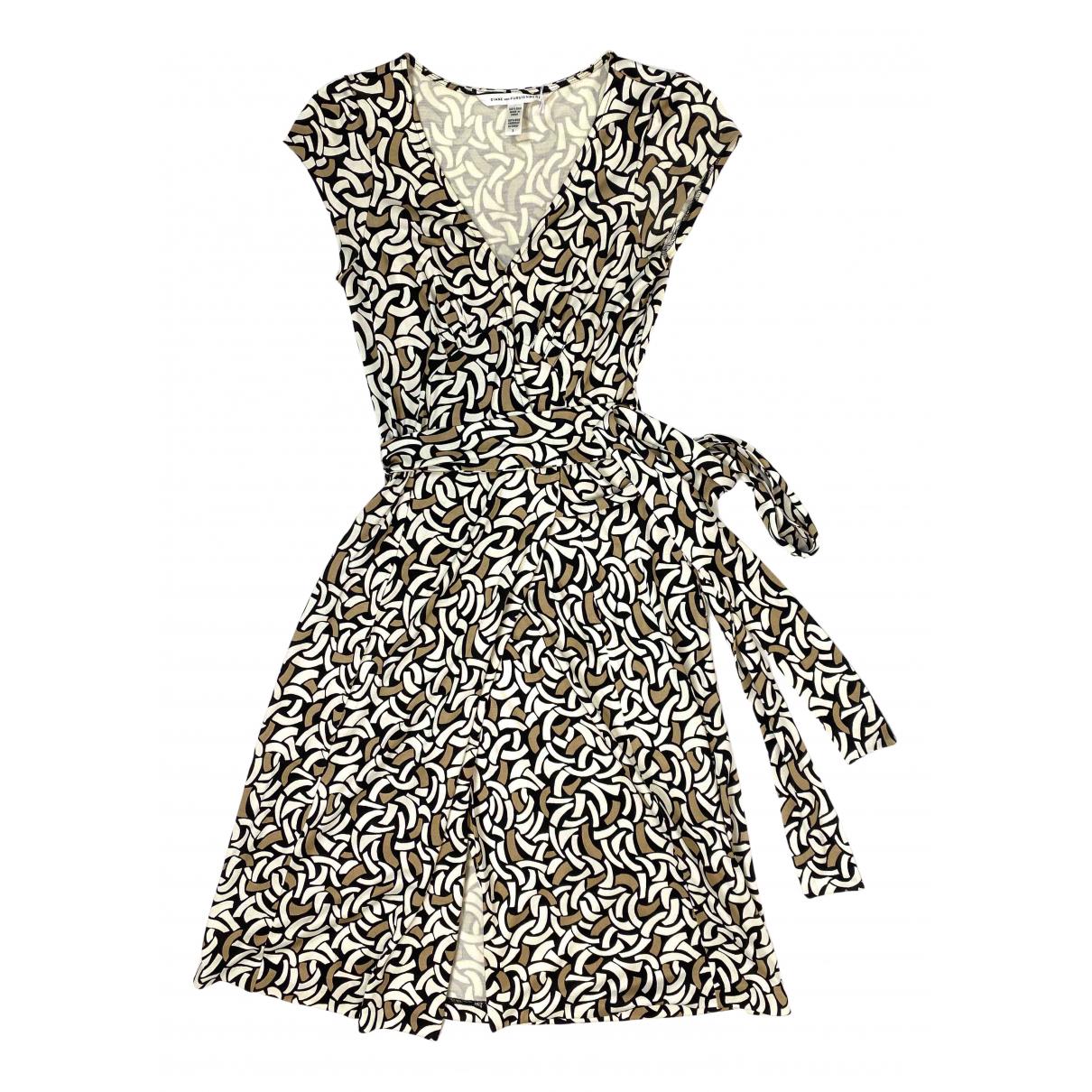 Diane Von Furstenberg N Multicolour Cotton - elasthane dress for Women 2 US