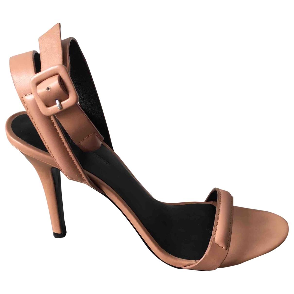 Alexander Wang \N Beige Leather Sandals for Women 38 EU