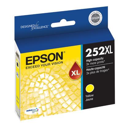 Epson 252XL T252XL420 Original Yellow Ink Cartridge High Yield