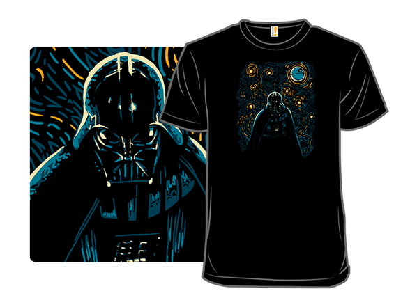 Starry Dark Side T Shirt