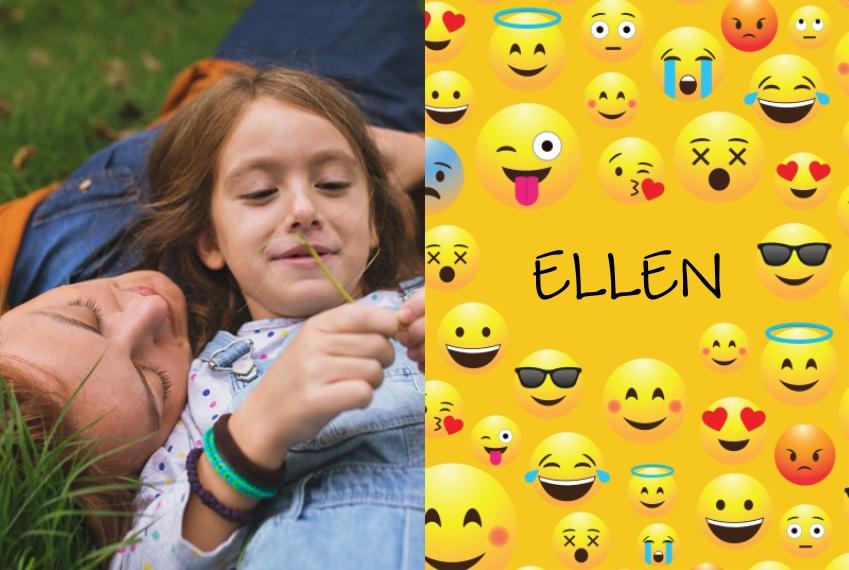 Placemat Placemat, Gift -Emoji