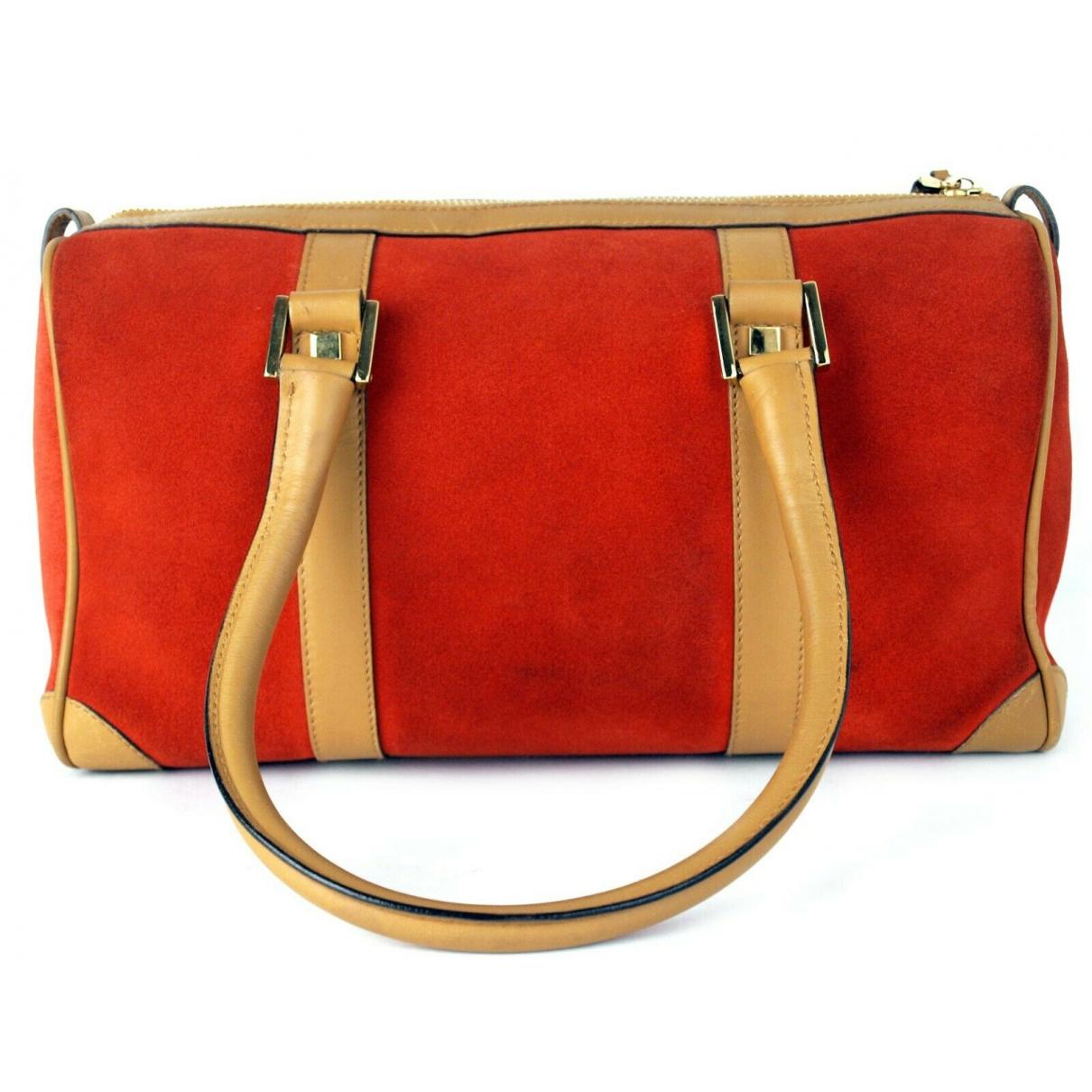 Gucci \N Orange Leather handbag for Women \N