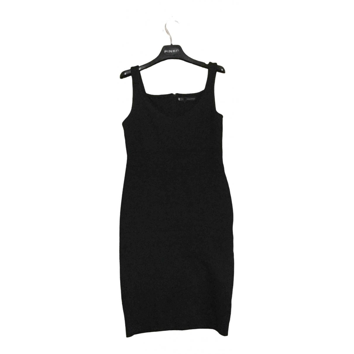Dsquared2 - Robe   pour femme en coton - elasthane - noir