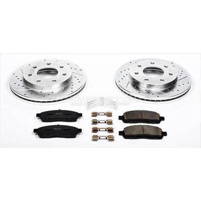 Power Stop Z23 Evolution Sport Performance 1-Click Front Brake Kit - K1946