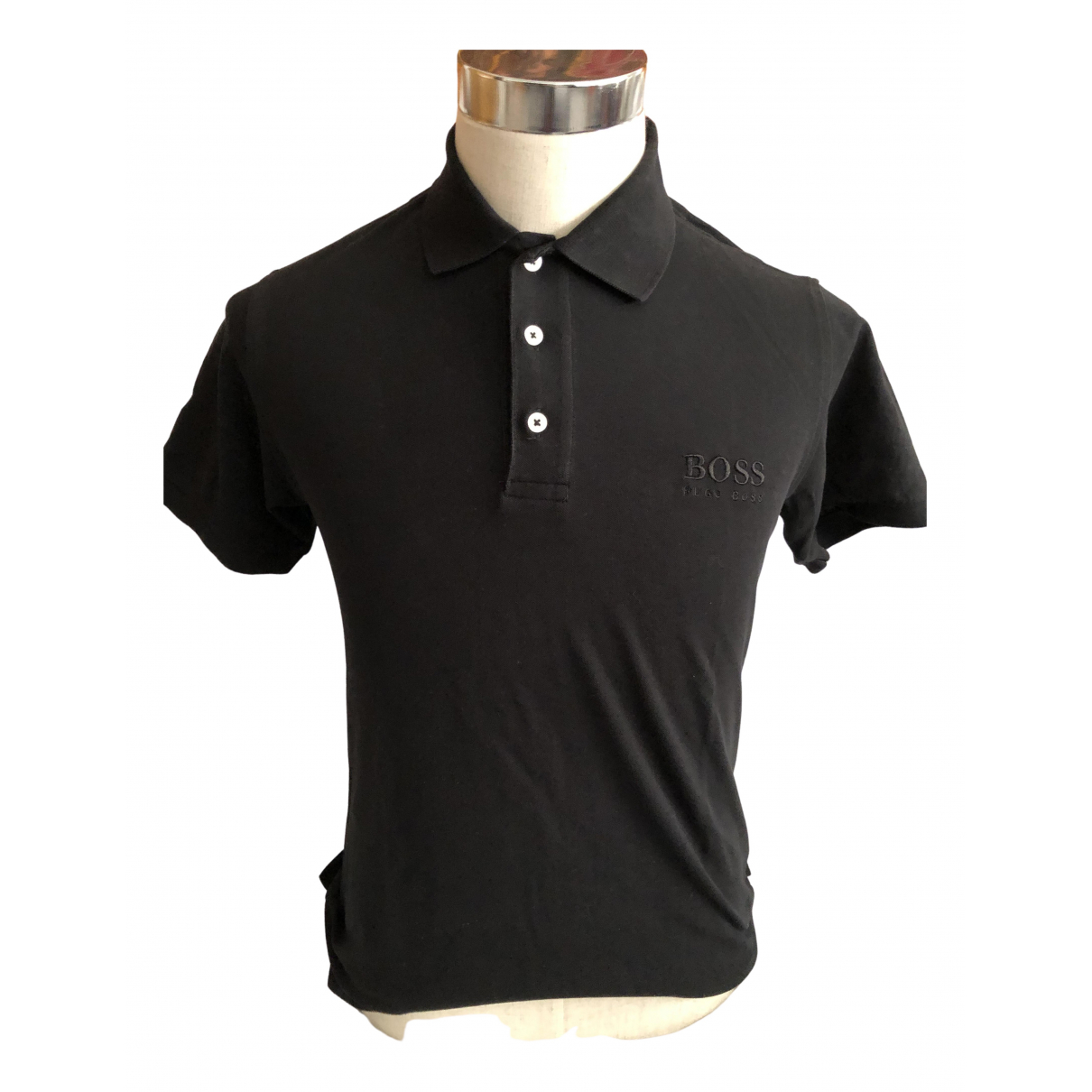 Boss \N Poloshirts in  Schwarz Baumwolle