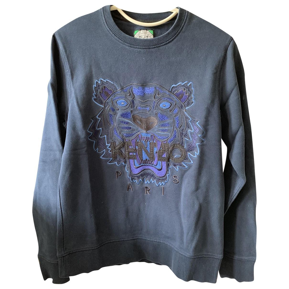 Kenzo \N Pullover.Westen.Sweatshirts  in  Marine Baumwolle