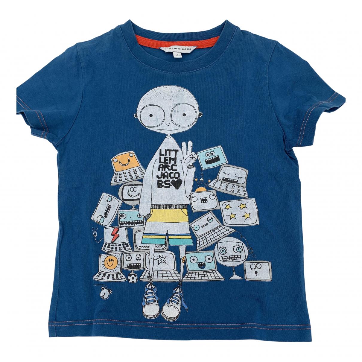 Little Marc Jacobs - Top   pour enfant en coton - bleu
