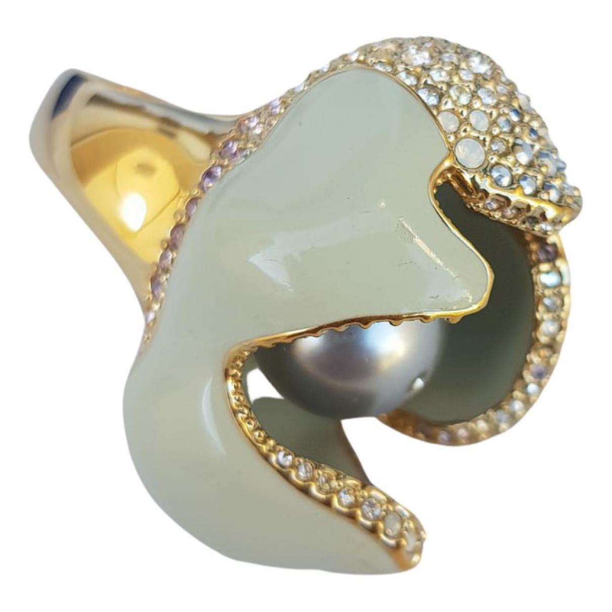 Swarovski - Bague   pour femme en perle - vert