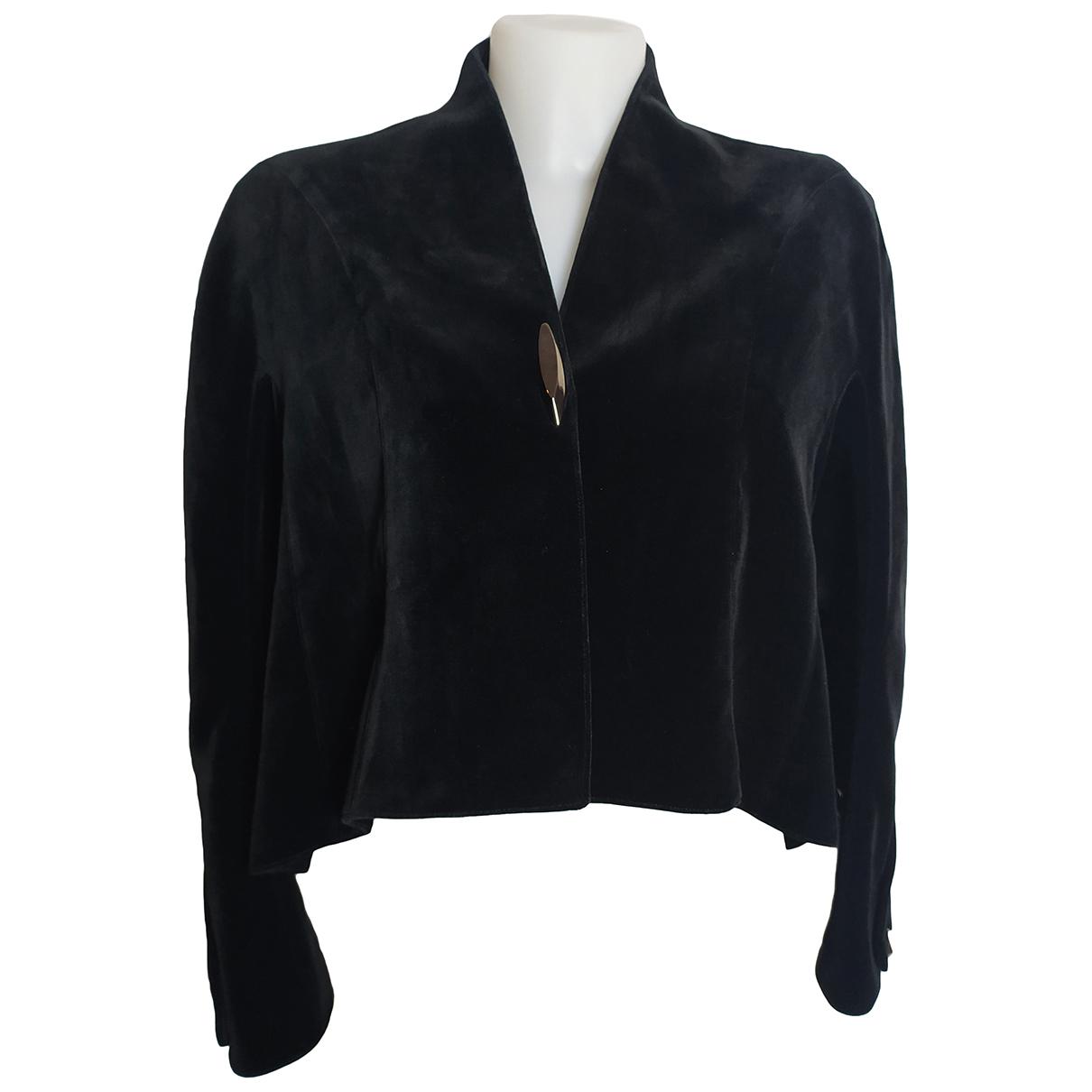 Thierry Mugler - Veste   pour femme en coton - noir
