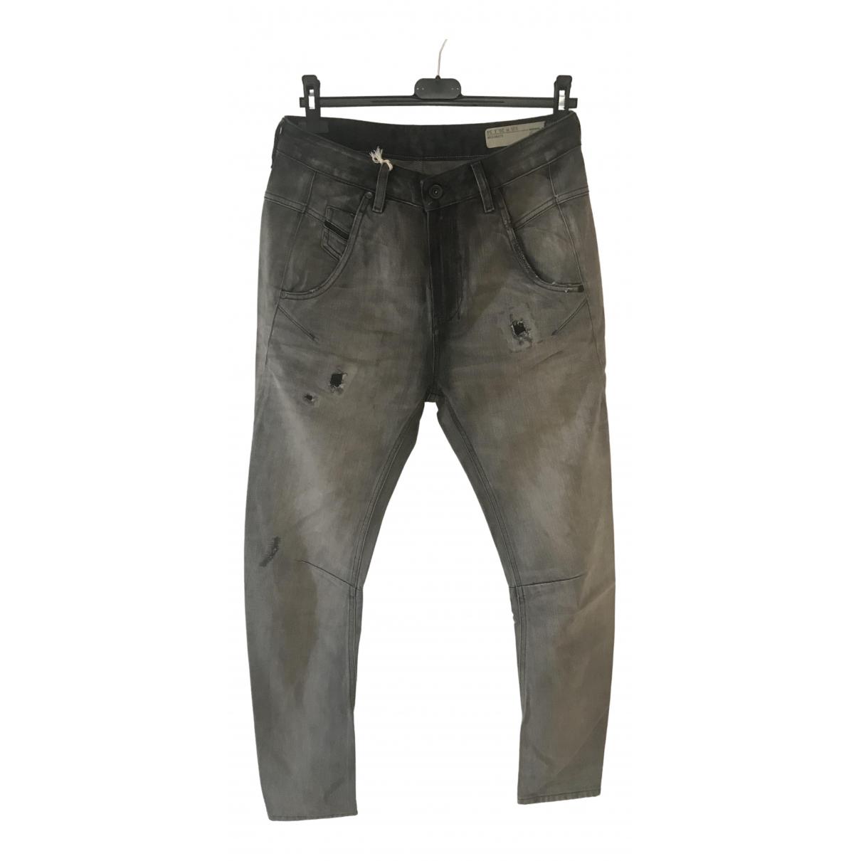 Diesel \N Grey Cotton Jeans for Women 36 FR