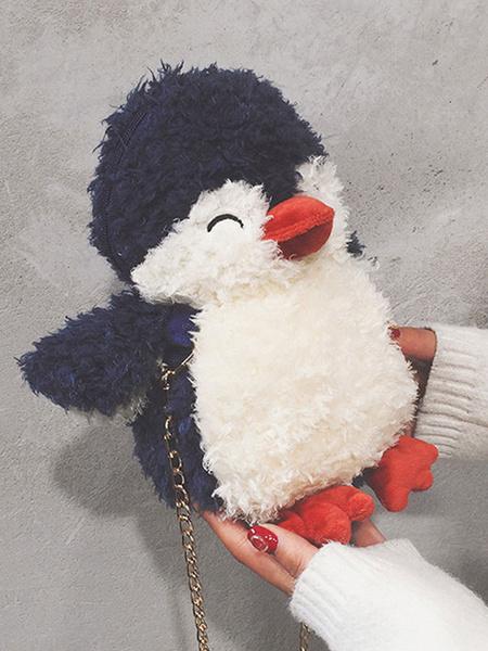 Milanoo Sweet Lolita Bag Penguin Cross Body Bag Accesorios de Lolita