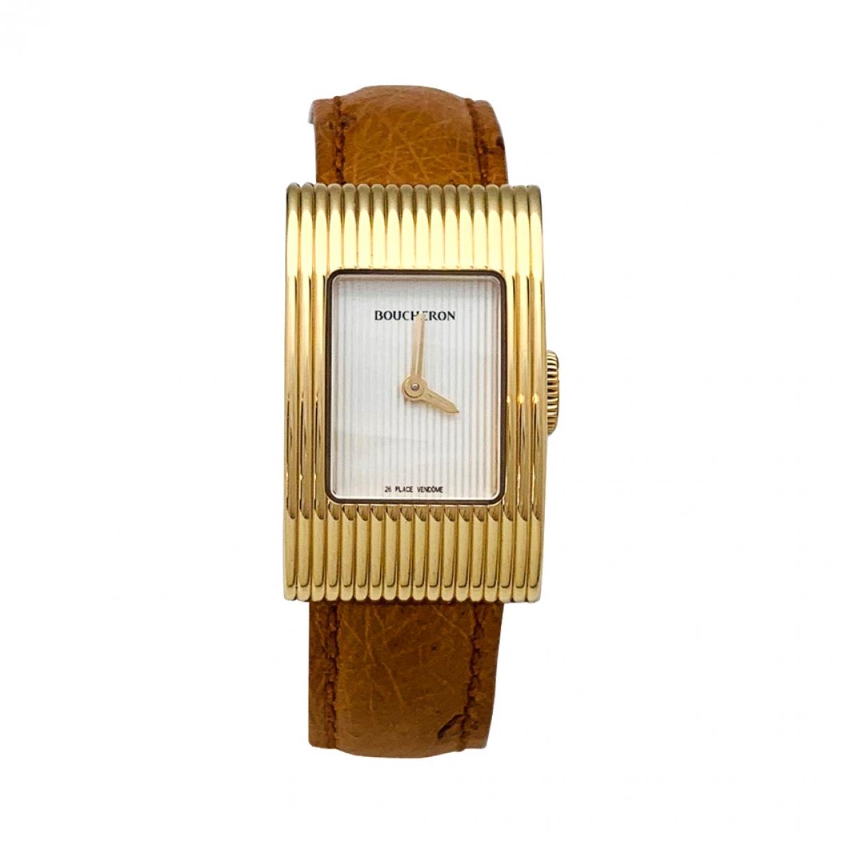 Boucheron Reflet Uhr in Gelbgold