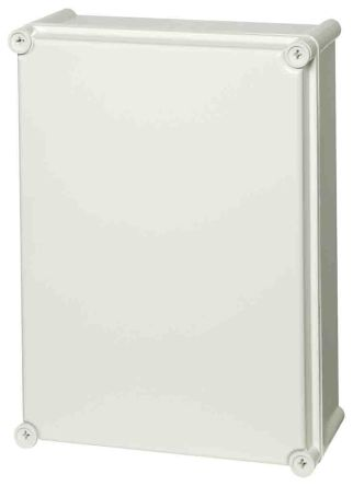 Fibox Light Grey ABS Enclosure, IP66, IP67, 378 x 278 x 180mm
