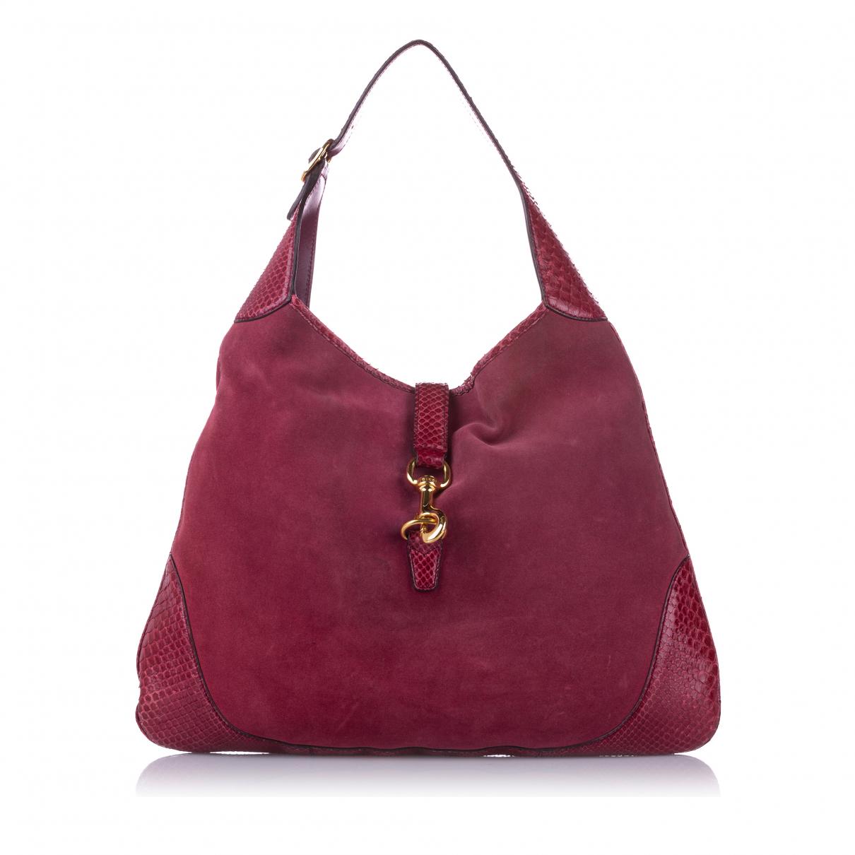 Gucci - Sac a main   pour femme en cuir - rose