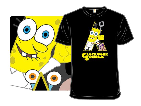 Clockwork Sponge T Shirt