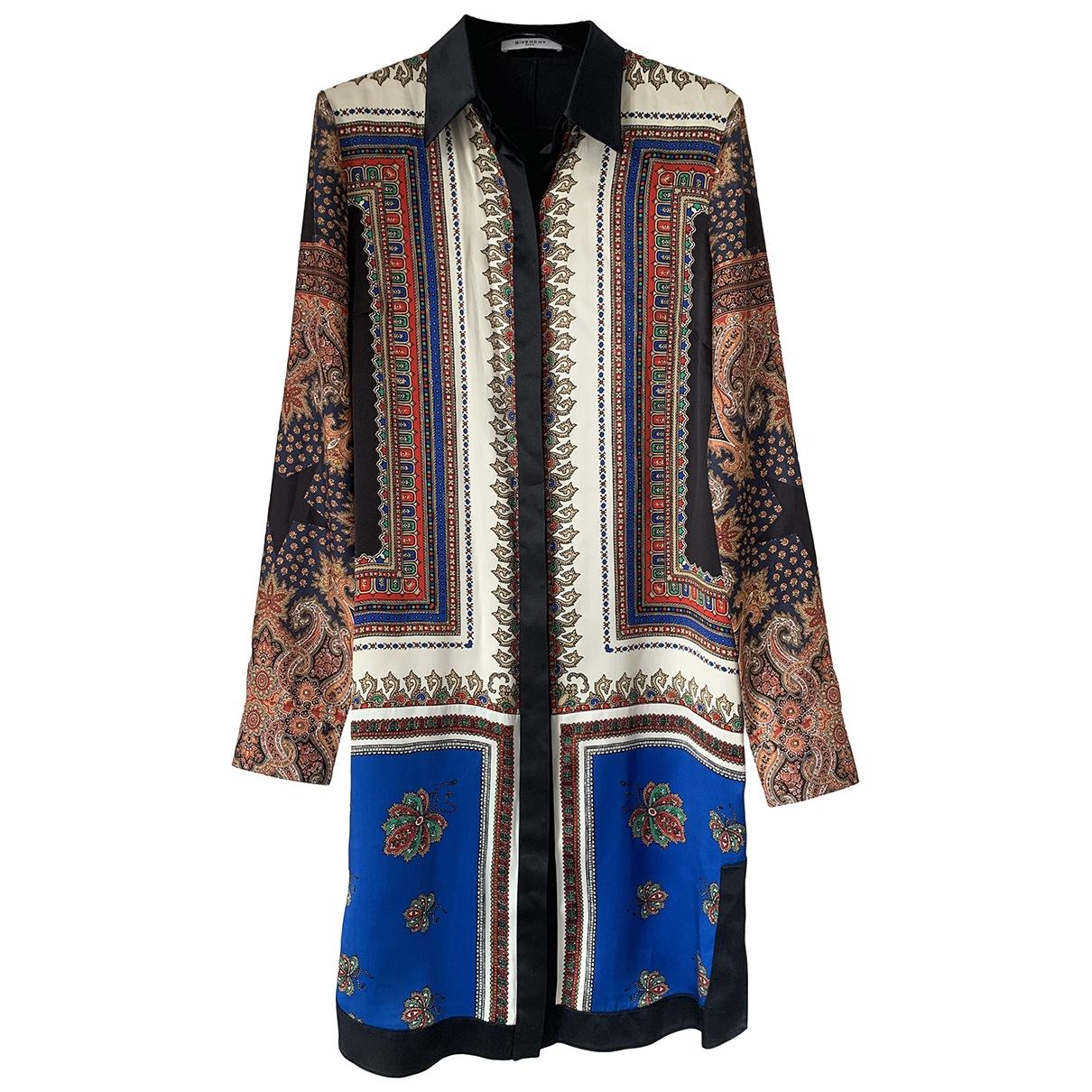 Givenchy - Robe   pour femme en soie - multicolore